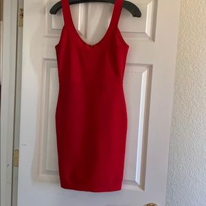 Little Red Dress!! Bodycon!